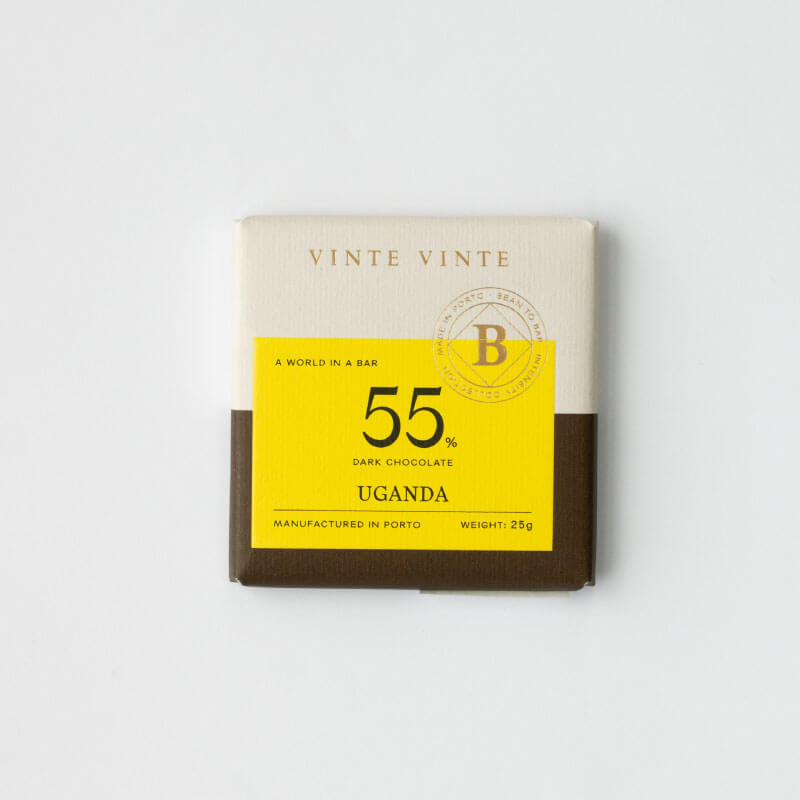 Intensity Chocolate Negro 55% Uganda