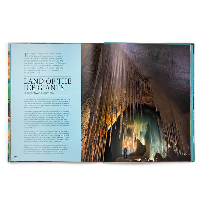 Livro Natural Wonders Of The World