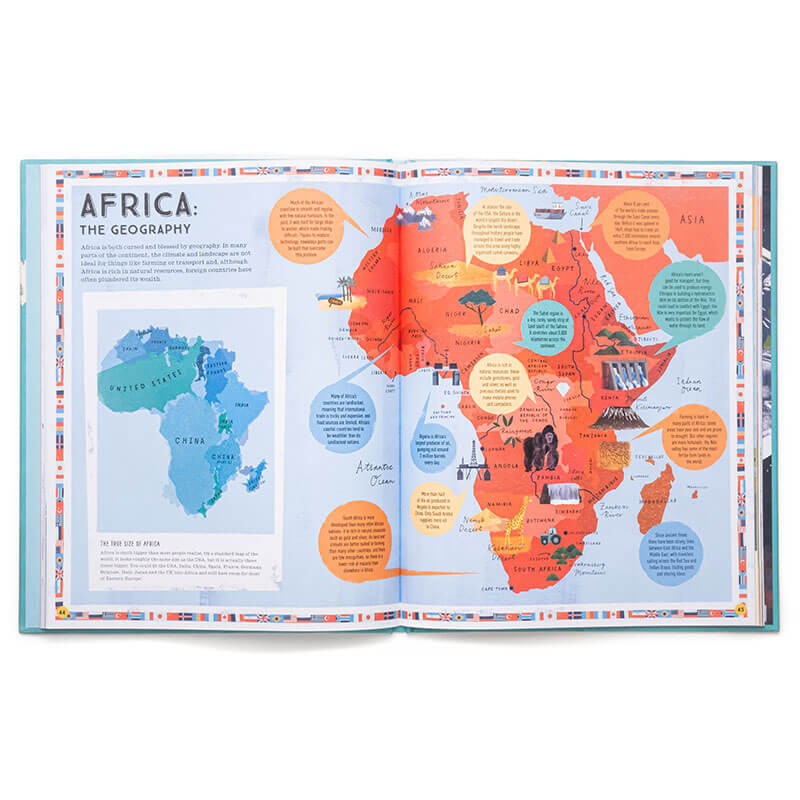 Livro Prisoners Of Geography The World Explained In 12 Simple Maps
