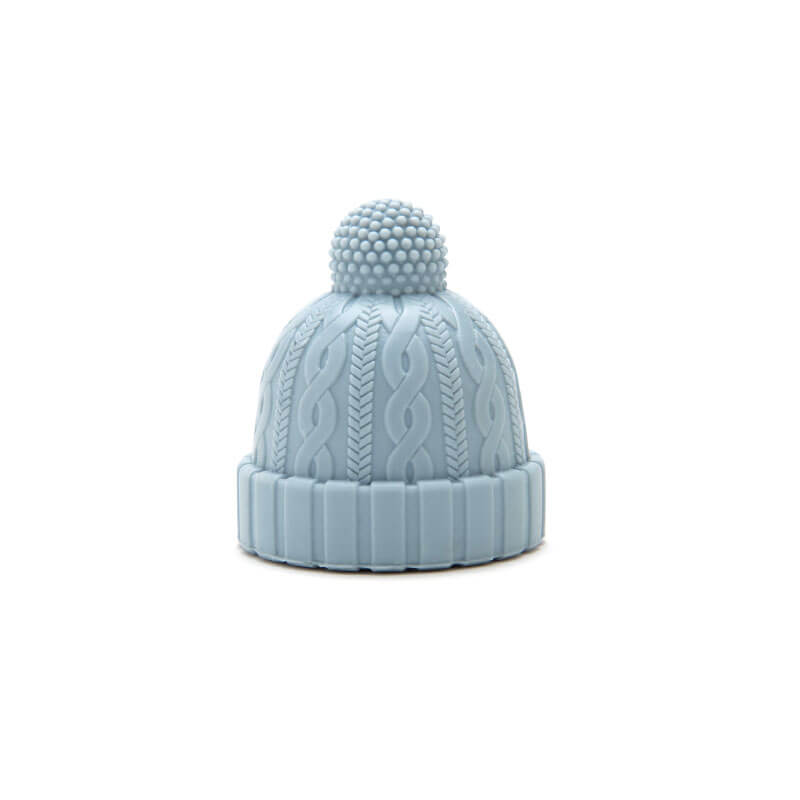 Beanie Bottle Stopper Azul